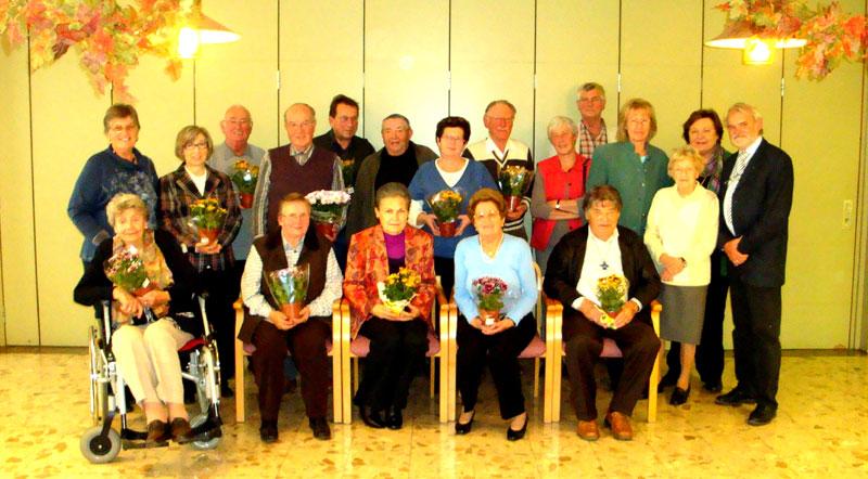 Raggendorfer trafen sich zum Jubilumsgeburtstag